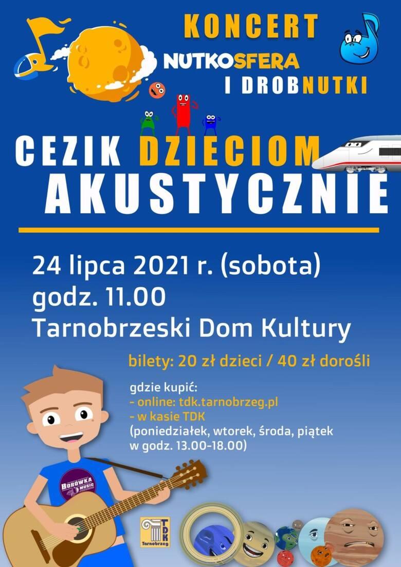 CeZik wystąpi dla dzieci w Tarnobrzeskim Domu Kultury. Ruszyła sprzedaż biletów