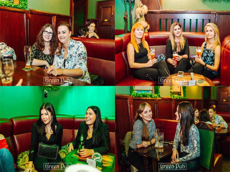 Green Pub w Koszalinie przy ul. Fałata tętni życiem. Zobaczcie zdjęcia z piątek imprezy w tym miejscu. Green Pub Koszalin