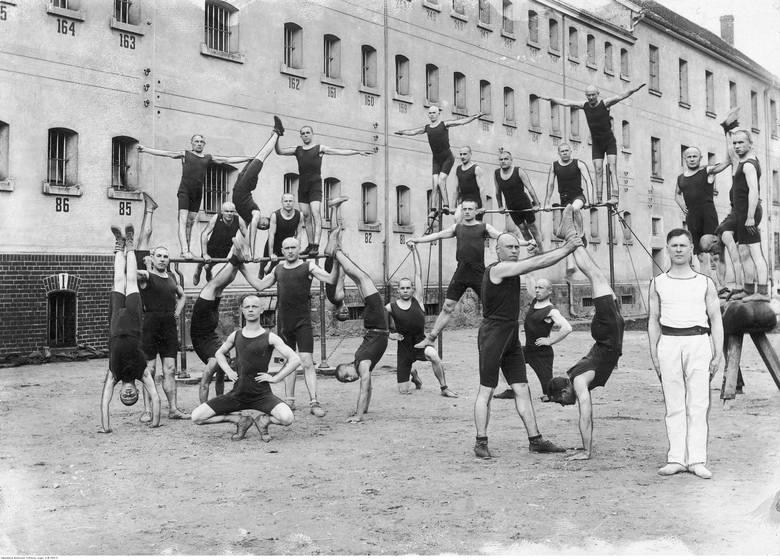 Więzienie w Rawiczu, 1936 rokWięzienny zespół gimnastyczny