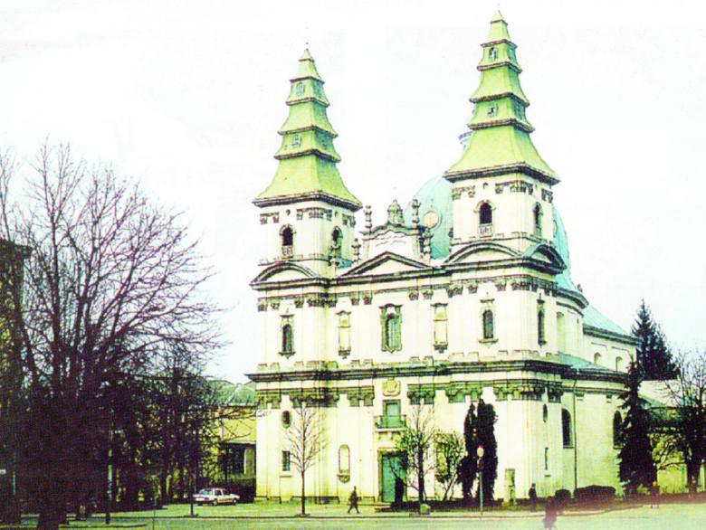 Kościół parafialny w Tarnopolu.