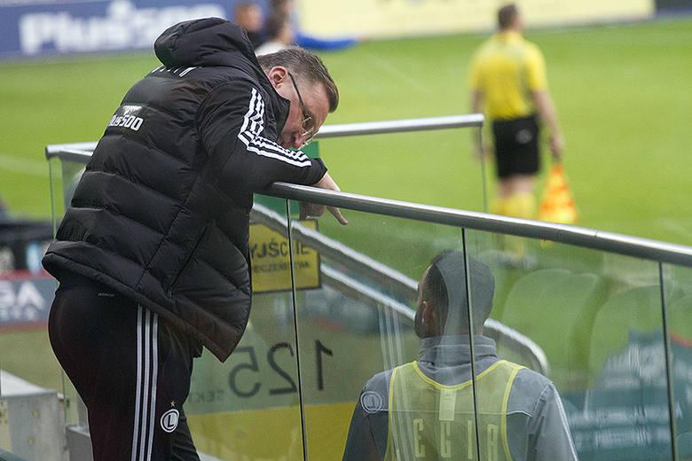 PKO Ekstraklasa. Bramki o dziwo nie padły przy Łazienkowskiej Legia Warszawa zagrała w niedzielę z niżej notowaną Cracovią. Trener Czesław Michniewicz