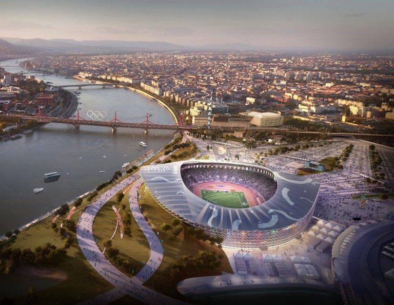 Tak ma wyglądać Stadion Olimpijski w Budapeszcie [WIZUALIZACJE]