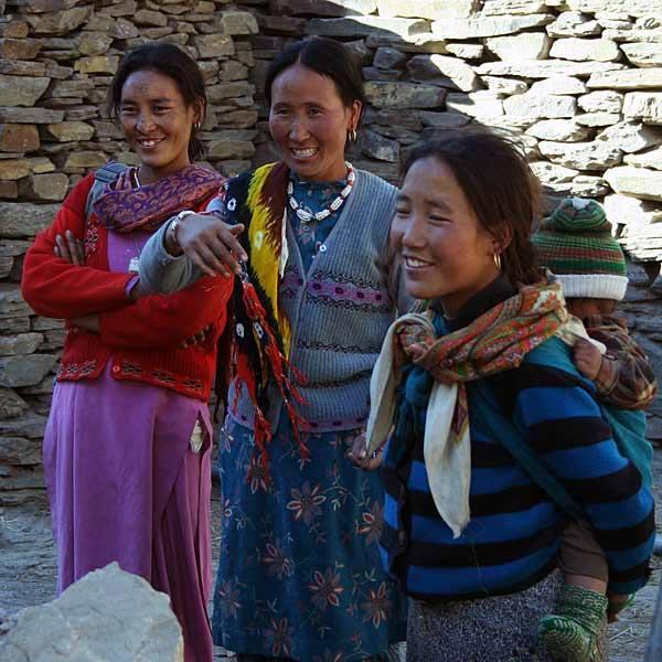 Ludność w Keylongu niewiele ma wspólnego z typowymi Hindusami.