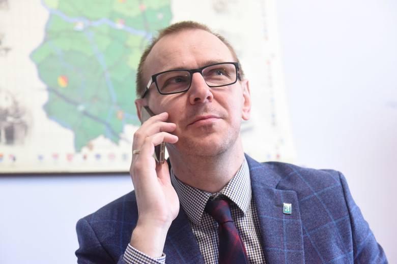 Wójt Krzysztof Gola