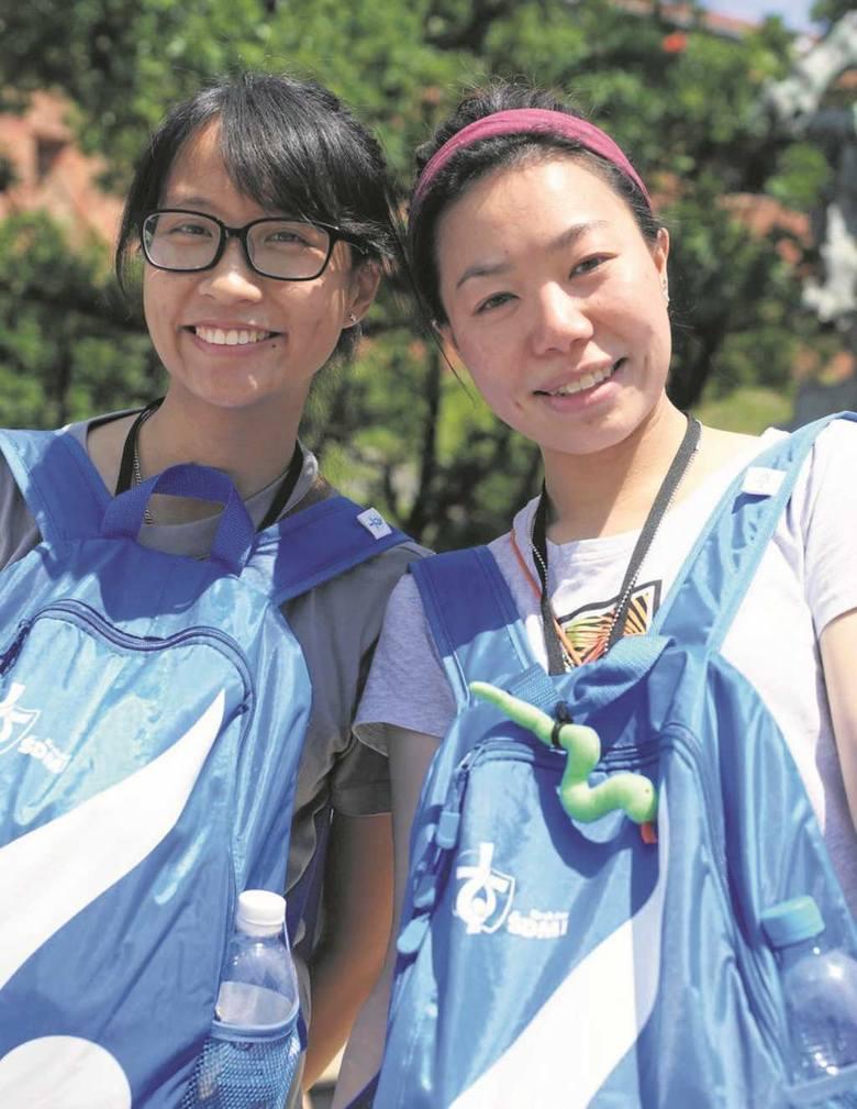 Fatima Lai i Koei Yeung przyjechały na ŚDM do Krakowa z Hongkongu