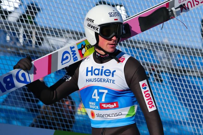 Piotr Żyła dwa lata temu ukończył TCS na drugim miejscu, ale tym razem nie ma go w gronie faworytów.