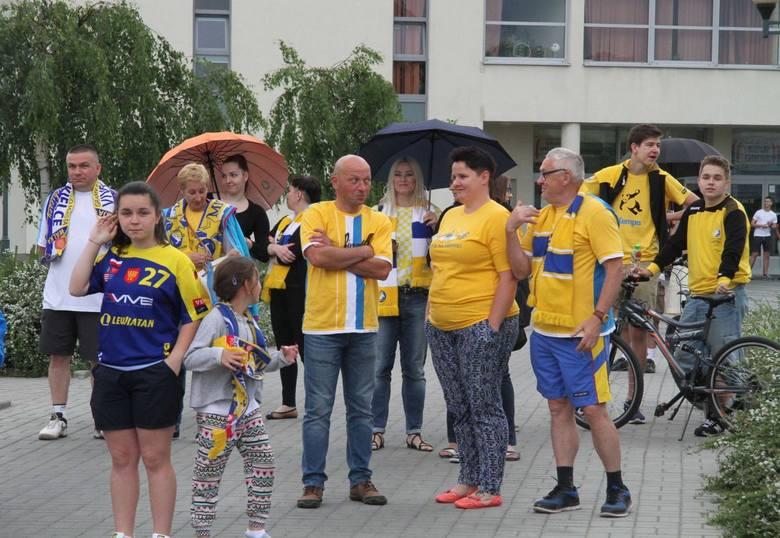 Wielkie powitanie Mistrzów z Vive Tauronu w Kielcach