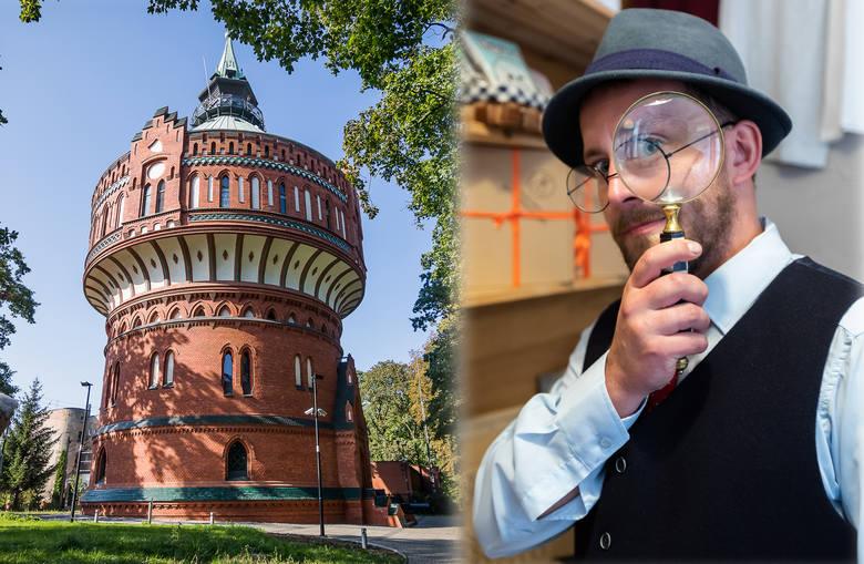 Wieża Ciśnień przy ul. Filareckiej 1 - jeden z zabytkowych obiektów Muzeum Wodociągów - będzie miejscem październikowego zwiedzania połączonego ze spektaklem