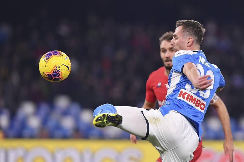 Drągowski zatrzymał Milika i Zielińskiego! Fiorentina górą w starciu z Napoli