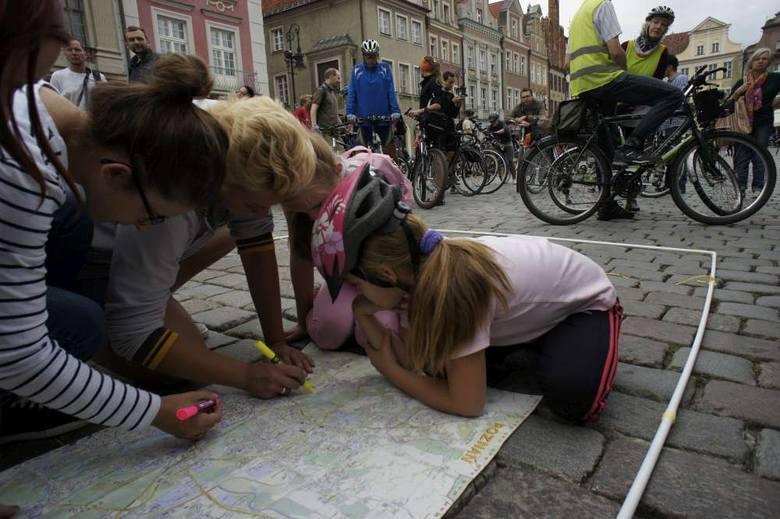 Poznańska Masa Krytyczna ma 10 lat. Jubileuszowy przejazd