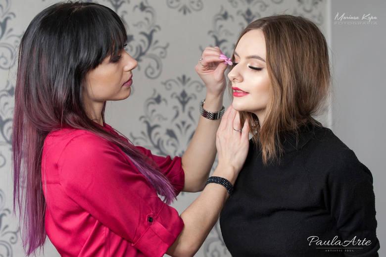 Paulina Skwierz znana słupska artystka rzęs wybrana stylistką na światowy pokaz mody