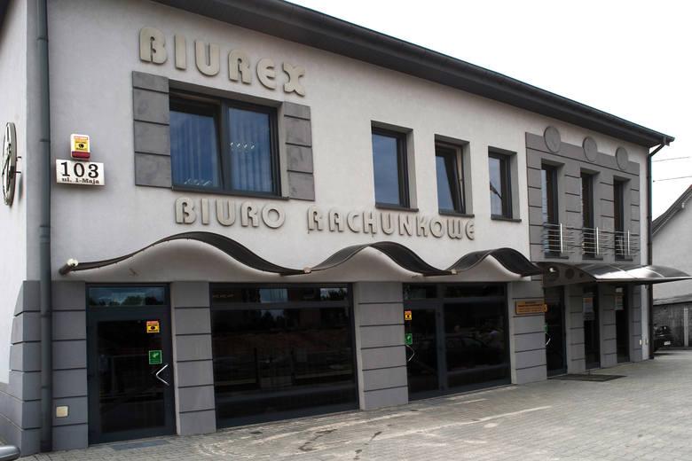 Liderzy Regionu 2012: Biuro Rachunkowe Biurex Ryszard i Michał Cielibała z KielcBiuro Rachunkowe Biurex swoją siedzibę ma w Kielcach przy ulicy 1 Maja