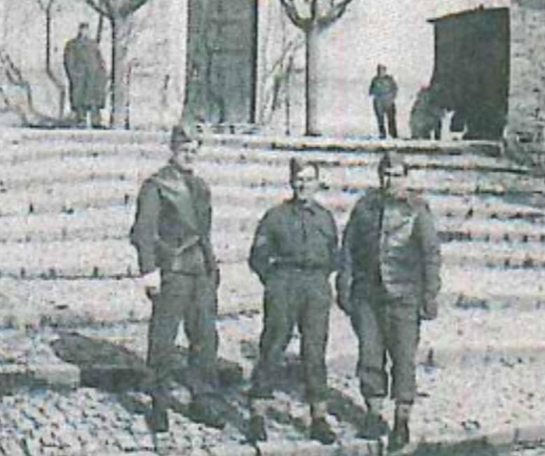 1944 r. Konstanty Bączkowski z kolegami już w armii generała Władysława Andersa, do której trafił po internowaniu w Rumunii
