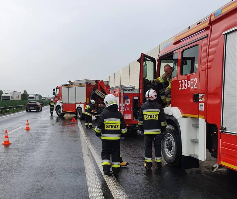 Jedna osoba została ranna w wypadku, do którego doszło w czwartek w Gądkach.