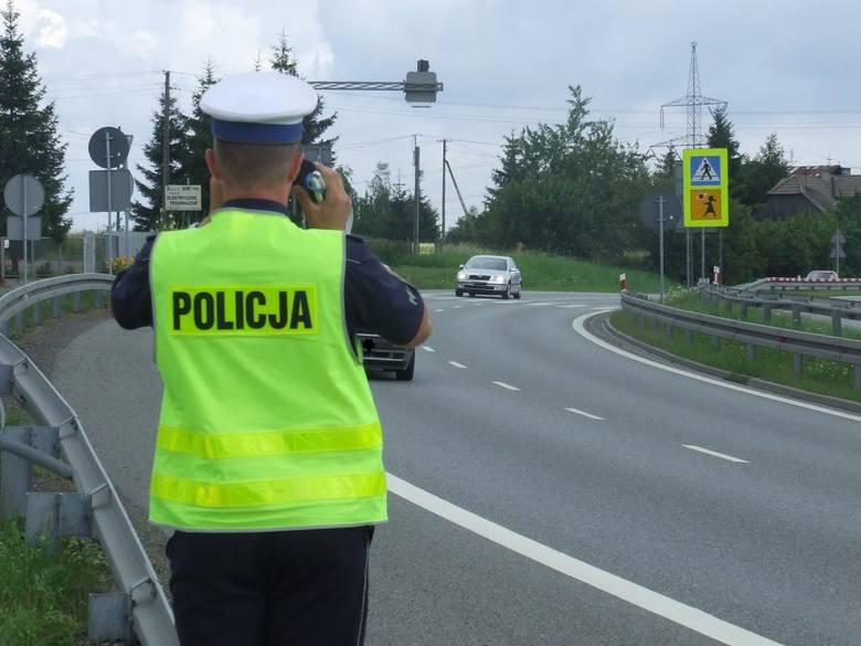 Powiat wielicki. Policyjne kontrole na drogach. Kierowcy tracą prawa jazdy