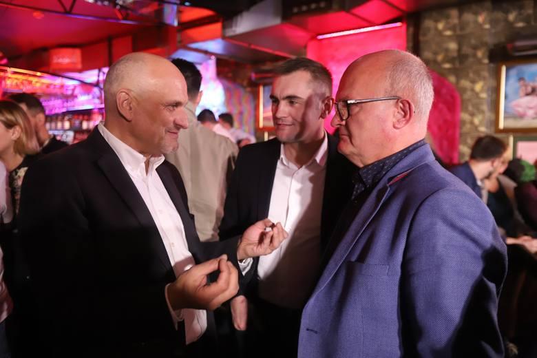 Wieczór wyborczy łódzkiego sztabu Koalicji Obywatelskiej