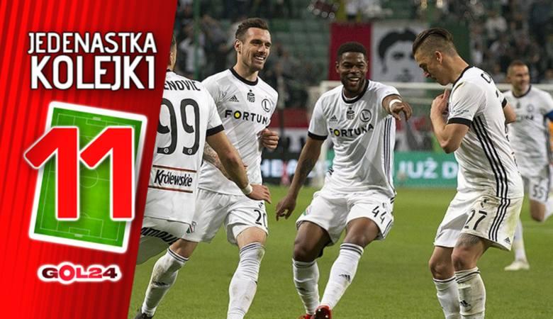 Lotto Ekstraklasa. Legia Warszawa odzyskała to, o co walczyła praktycznie przez całą fazę zasadniczą - pozycję lidera. Dzięki wygranej z Cracovią (1:0)