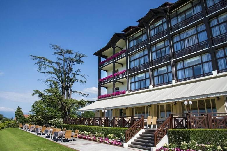 Reprezentacja Niemiec - Hotel ErmitageDrużyna niemiecka zdecydowała się na pobyt w hotelu, który nie znalazł się na liście polecanej przez UEFA. Mistrzowie