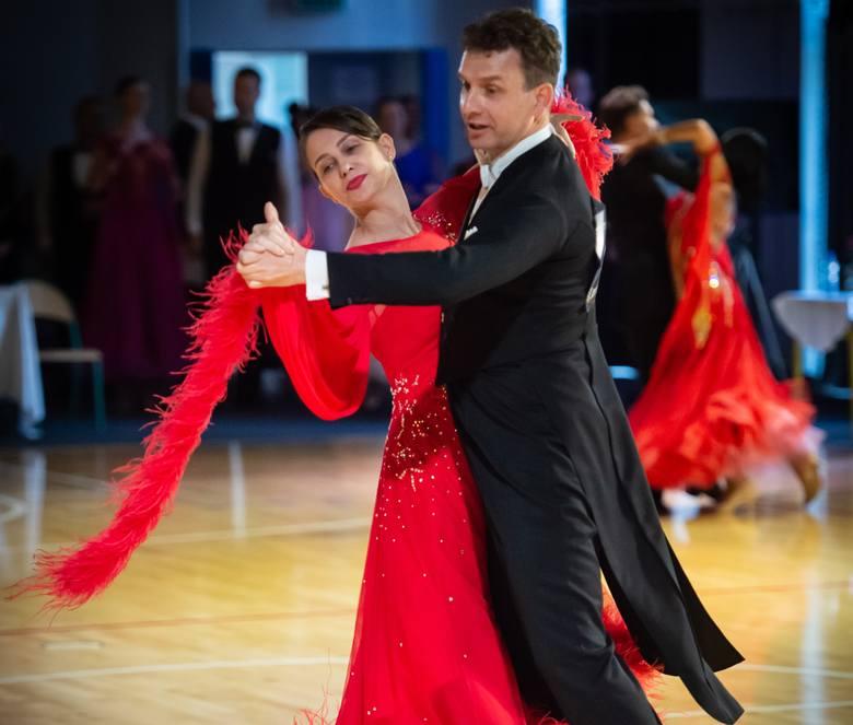 Jerzy Jeziorowski i Jolanta Kubat-Jeziorowska, jedni z najlepszych tancerzy w Polsce wśród czterdziestolatków.