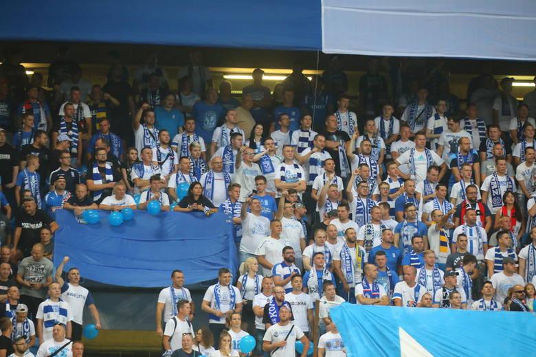 Mecz ze Śląskiem Wrocław był kolejnym rozgrywanym w tym sezonie na Bułgarskiej. Sądząc po frekwencji, wielu kibiców nie mogło od dawna doczekać się meczów