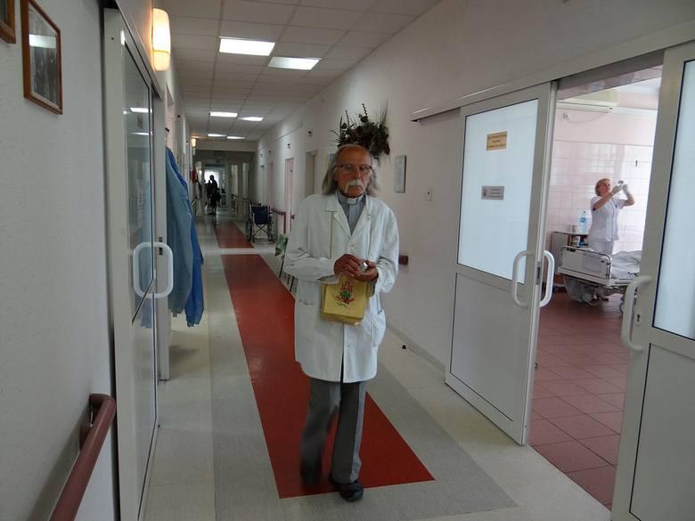 Ks. Zawierucha w szpitalu
