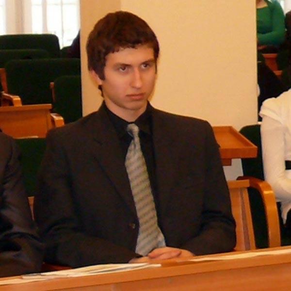 Krzysztof Stryjecki, pierwszy przewodniczący Młodzieżowej Rady Miejskiej.