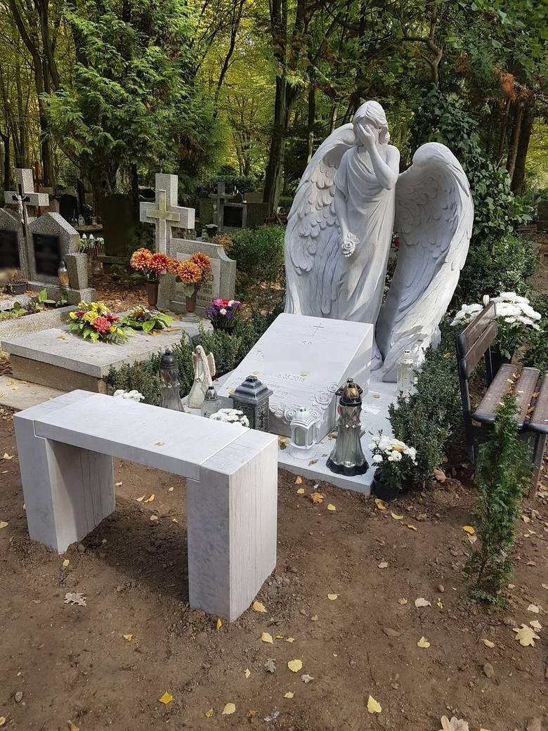 Najbardziej oryginalne nagrobki na Cmentarzu Centralnym w Szczecinie [ZDJĘCIA]