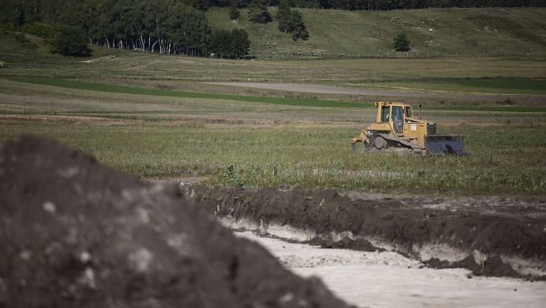 Trwają wstępne etapy prac budowy obwodnicy Pińczowa. Obecnie nie występują żadne utrudnienia w ruchu drogowym, które byłyby związane z budową obwodnicy
