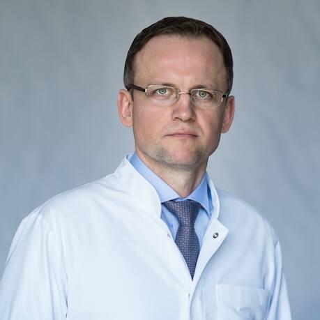 Dr Mariusz Ciemerych, uroonkolog i koordynator Pododdziału Urologii w Białostockim Centrum Onkologii.