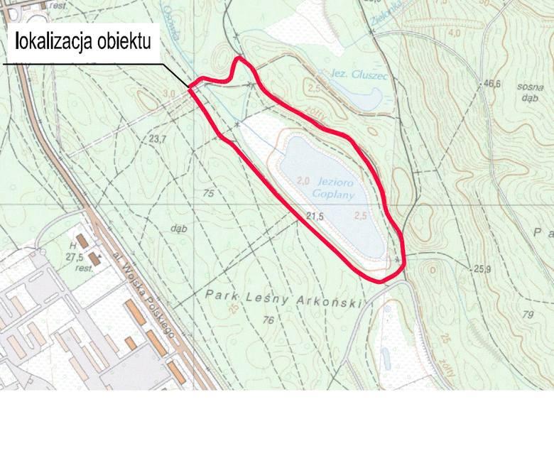 Będzie dłuższa trasa koło Arkonki. Na rolkach dookoła Goplany