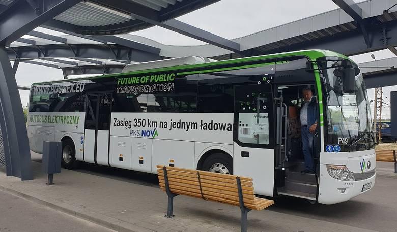 PKS Nova. Firma testuje autobusy elektryczne z Suwałk do Białegostoku oraz z Suwałk przez Wigry do Sejn (zdjęcia)