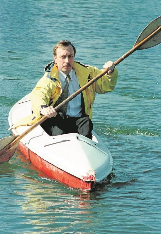 """Po powodzi w 1997 roku wielu wrocławian mówiło  o nim """"Nasz Noe"""""""