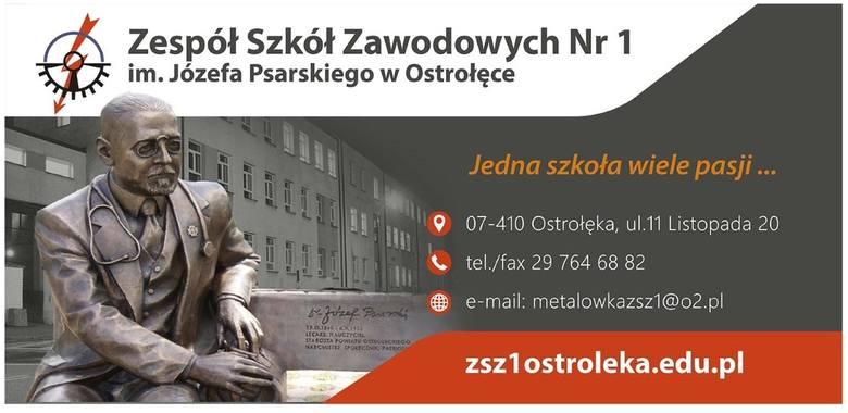 """Zespół Szkół Zawodowych  Nr 1 w Ostrołęce. Jedna szkoła, wiele pasji! Rekrutacja do """"METALÓWKI"""" START!"""