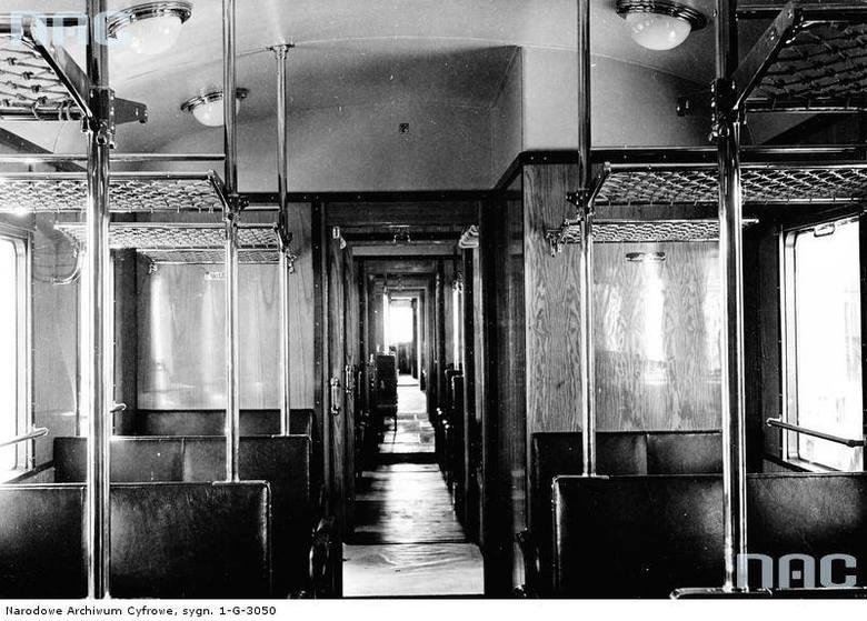 Restauracja, łazienka z wanną, poczta... tak wyglądała kolej w II RP