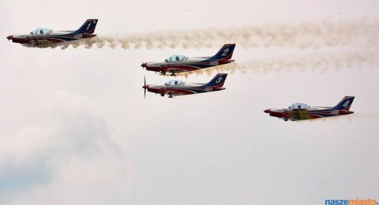 Piknik Szybowcowy w Lesznie: Samoloty jak Gwiezdnych Wojen