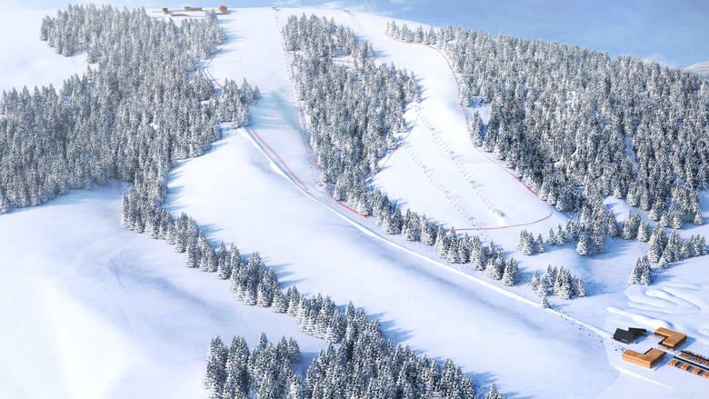 Tak miały wyglądać nowe trasy i wyciągi narciarskie na Gubałówce