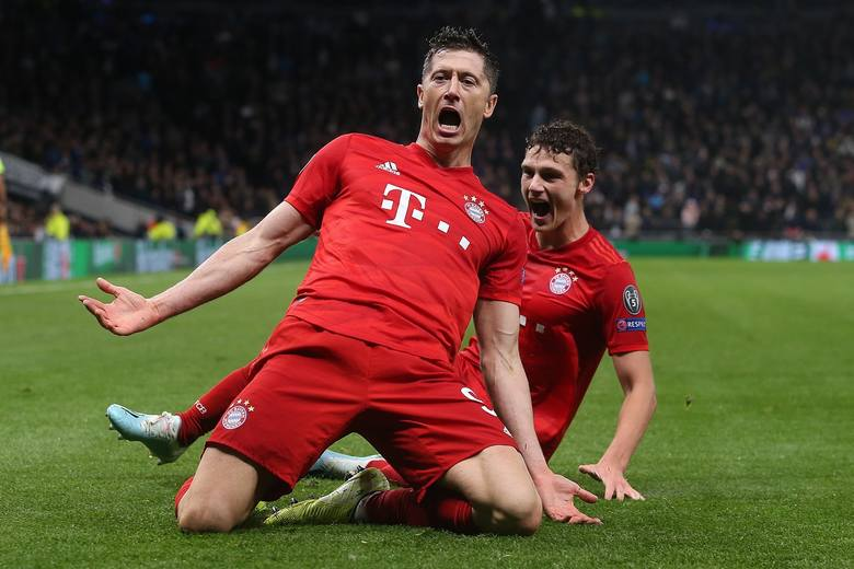 13 bramek - Robert Lewandowski (Bayern Monachium)6 bramek - Timo Werner (RB Lipsk)5 bramek - Paco Alcacer (Borussia Dortmund), Rouwen Hennings (Fortuna