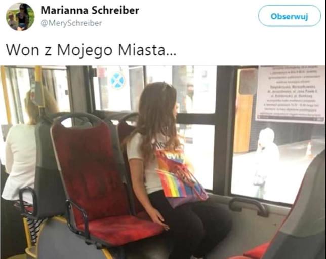 """Żona posła Łukasza Schreibera: """"Won z mojego miasta..."""""""