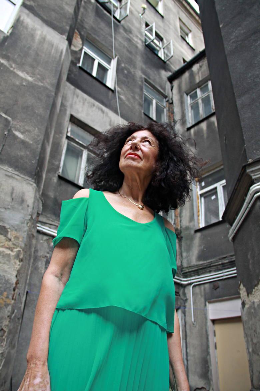 Zofia Sznajdman-Rydz odwiedziła też kamienicę przy Lubartowskiej 47, gdzie kiedyś mieszkała jej rodzina<br />