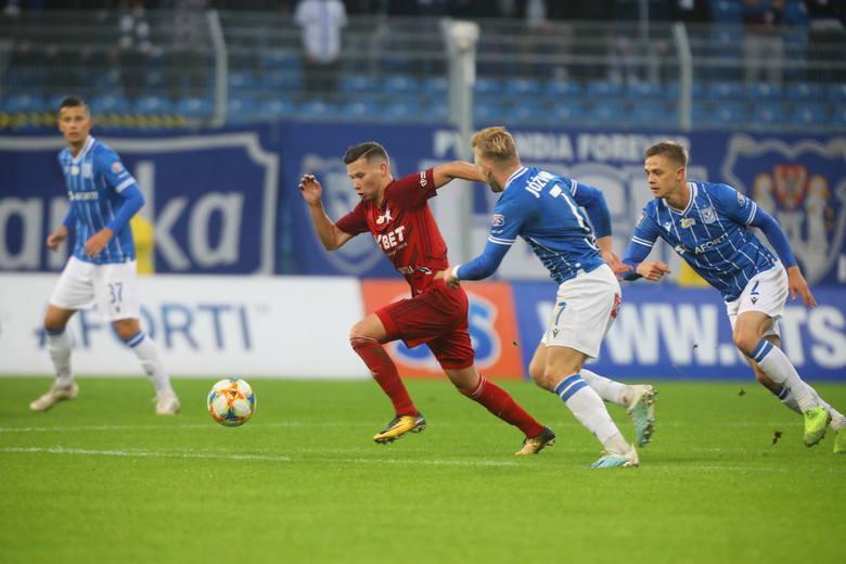 Lech Poznań wygrywa po dobrym meczu z Wisłą Kraków 4:0 i udanie rewanżuje się za ubiegłoroczną porażkę przy Bułgarskiej 2:5. Zobacz, jak oceniliśmy piłkarzy