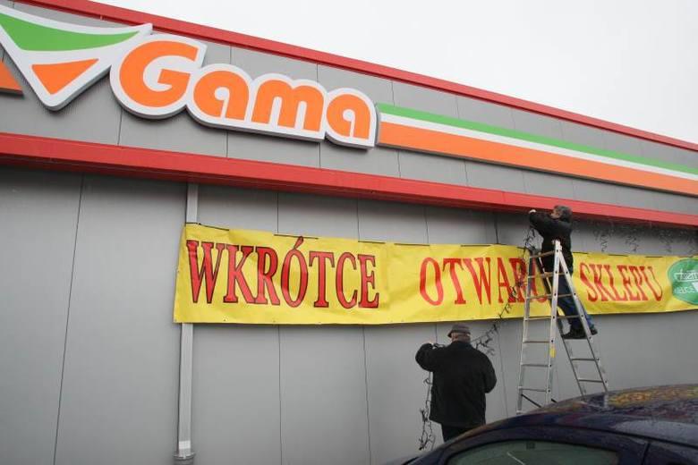 Wkrótce otwarcie supermaketu Gama w Kielcach