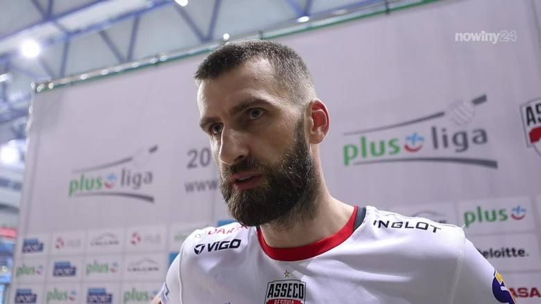 Asseco Resovia nadal nie może wygrać meczu. Marcin Możdżonek przyznaje jednak, że widać pewien postęp w grze zespołu [WIDEO]