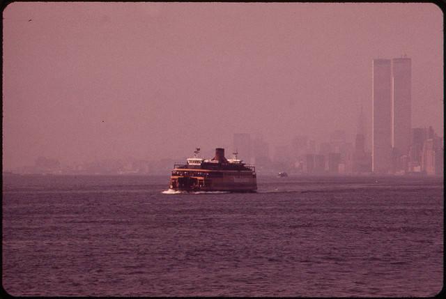 Widok WTC od strony Staten Island