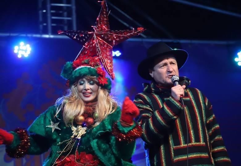Jacek Kawalec na Jarmarku Bożonarodzeniowym. Śpiewał Niemena i kolędy