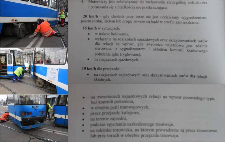Tramwaje w całym Wrocławiu mają zwolnić, by rzadziej się wykolejały. To decyzja prezesa MPK. Portal GazetaWroclawska.pl dotarł do tajnej instrukcji prezesa