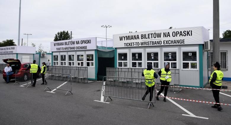 Open'er 2018 - Punkt wymiany przy Dworcu PKP Gdynia Główna