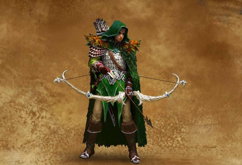 Might & Magic Heroes VIIłowca, czyli jedna z elfich jednostek w grze Might & Magic Heroes VII