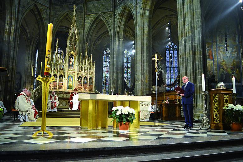 Uroczystości odbyły się w katedrze Świętego Wita w Pradze