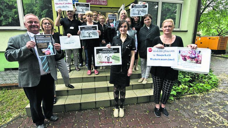 Protest Inspekcji Weterynaryjnej. Chcą zarabiać więcej