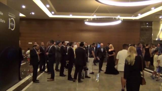 Gwiazdy u Samuela Eto'o w Turcji. Miał być charytatywny mecz, skończyło się na kolacji